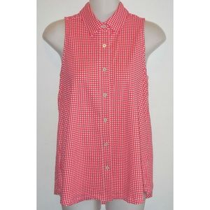 Gingham Check Jersey Shirt